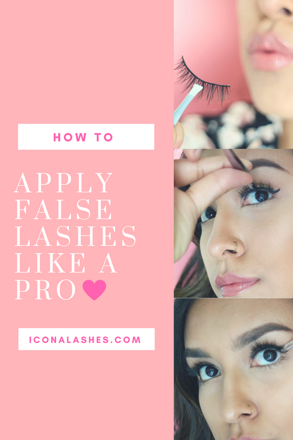 Apply False Lashes Like A Pro In 4 Easy-To-Follow Steps