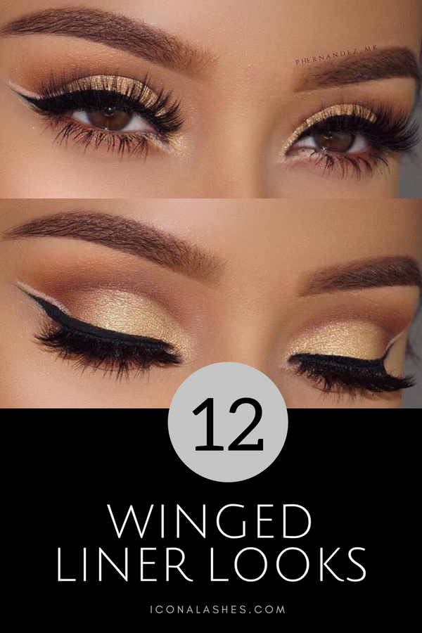 The Winged Eyeliner