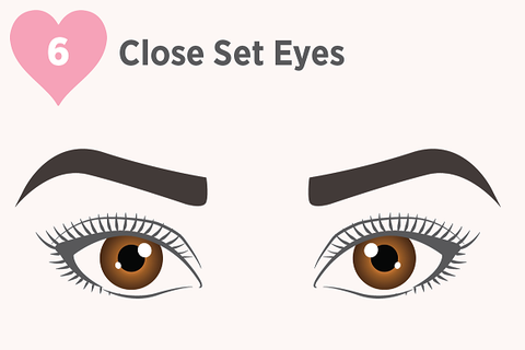 close set eyes, lashes for close set eyes, makeup for close set eyes, false lashes, makeup for close set eyes