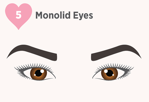 monolids, false lashes for monolids, monolid makeup, best lashes for monolids, lashes for monolid eyes