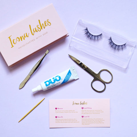 eyelashes, false eyelashes, eyelash adhesive, eyelash glue, how to apply false eyelashes, how to apply false lashes
