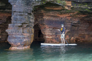 Celebrating the Sea Caves on Lake Superior