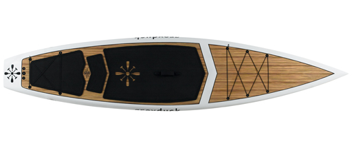 Grey Duck Journey Zebrawood SUP