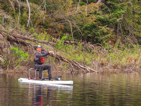 SUP Fishing - Kawishiwi River, Ely MN