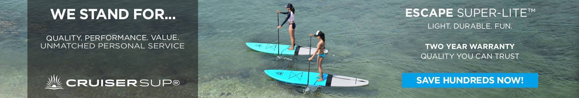 Stand Up Paddle Boards Between 7'11