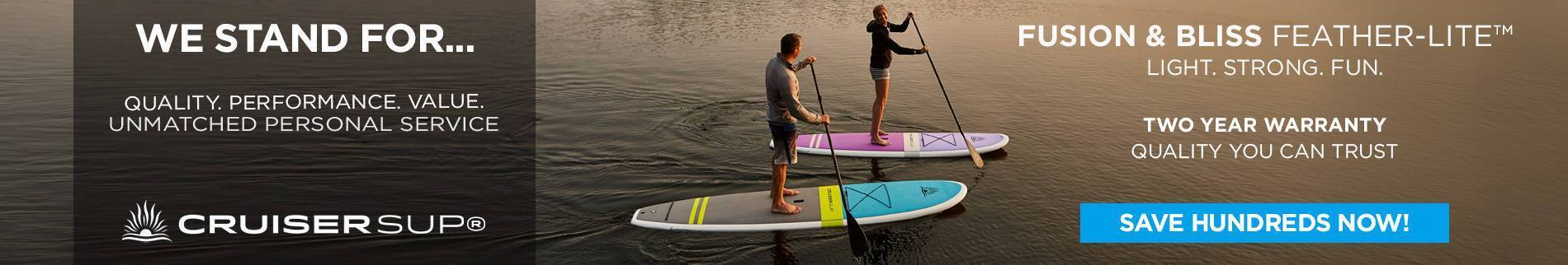 STAND UP PADDLE BOARDS BETWEEN 11' and 11'10