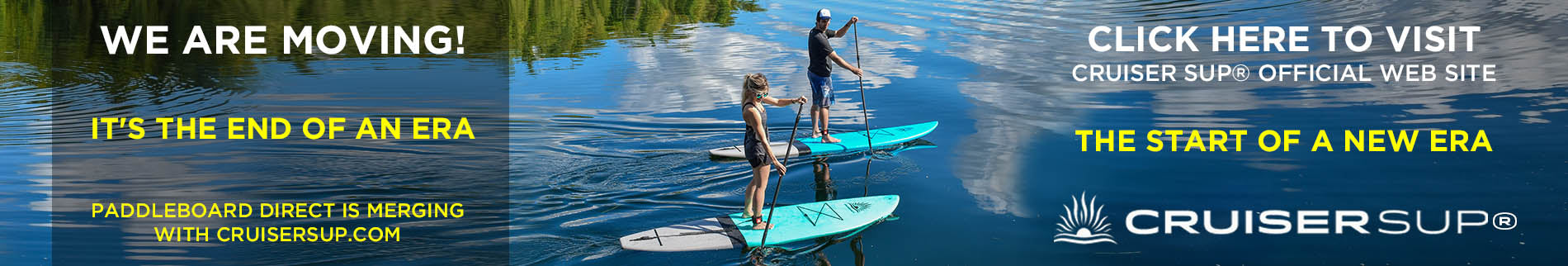 CruiserSUP Inflatable Stand Up Paddle Boards