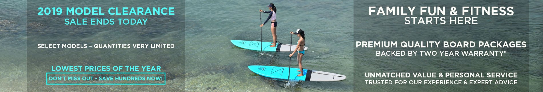 Women's Stand Up Paddle Board | Spring Clearance Sale