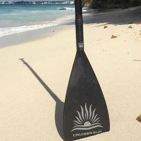 Cruiser SUP carbon stand up paddle board paddle