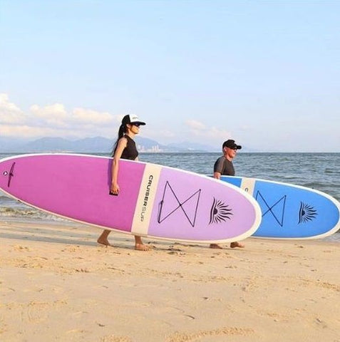 Cruiser SUP Fusion and Bliss stand up paddle boards
