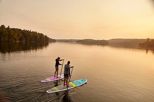 Fusion Paddle Boards on water