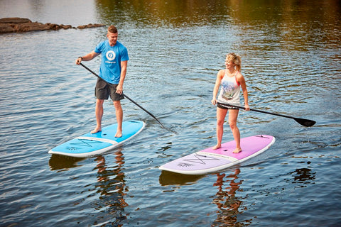 Recreational Stand Up Paddle Boarders