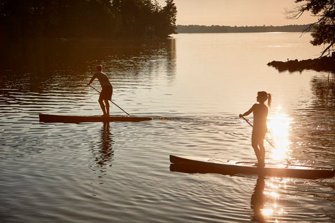 Touring Stand Up Paddle Boarders