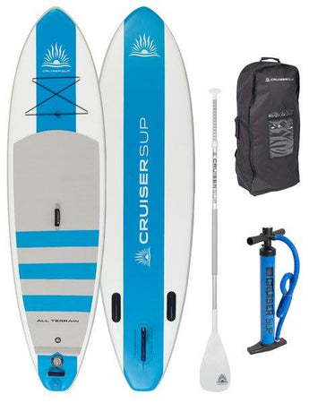 Two Escape All-Around Inflatable SUP Board Packages by CruiserSUP®