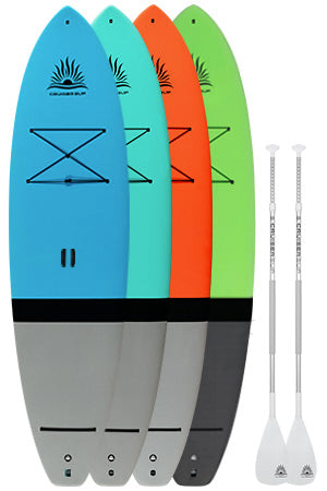 Two Cruiser SUP Escape Paddle Boards