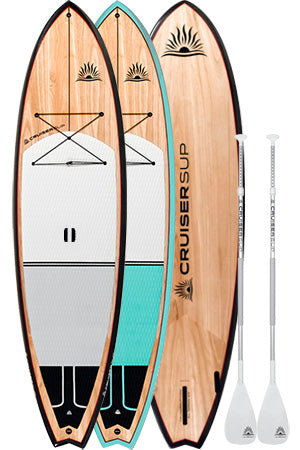 Two All-Terrain Classic Ultra-Lite Paddle Board Packages by CruiserSUP®
