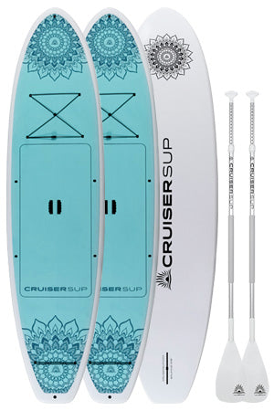"Two Balance 10'6"" (Dura-Shield™ Shell) Paddle Board by CruiserSUP®"