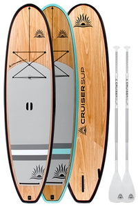 Two Cruiser SUP Blend Paddle Boards