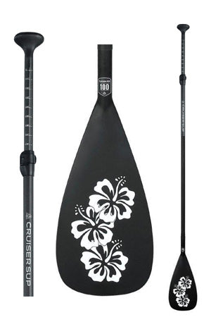 "(Upgrade) 8"" Wahine 100% Carbon Adjustable Length Stand Up Paddle - Upgrade"