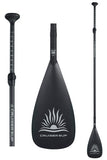"(Upgrade) 8"" 100% Carbon Pro Adjustable Length Stand Up Paddle - Upgrade"