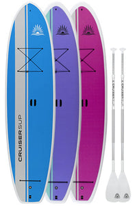 Two Dura-Maxx (Dura-Shield™ Shell) Paddle Board Packages By CruiserSUP®