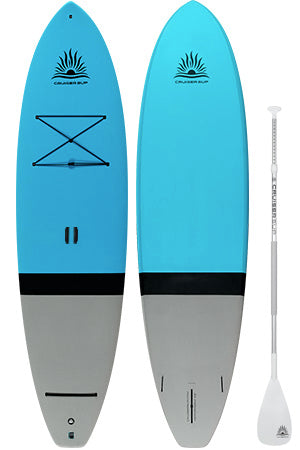 Two Escape Super-Lite (Full Deck Pad) Paddle Board Packages by CruiserSUP®