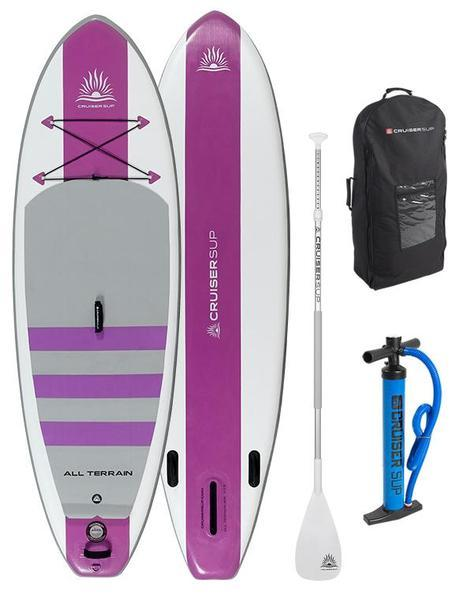Cruiser SUP Escape Air inflatable stand up paddle board package - Pink