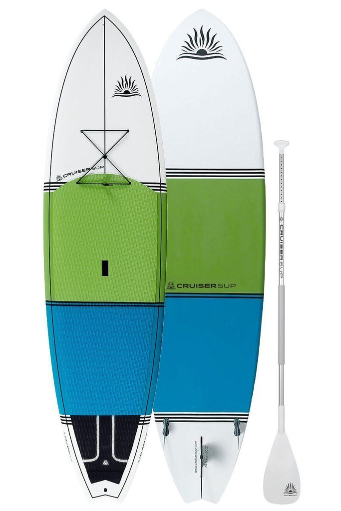 "*New* CruiserSUP® All-Terrain LTD 9'5""-10'8"" Ultra-Lite Bamboo/Carbon"