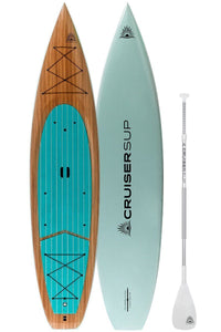 "CruiserSUP® V-Max DS 11'6"" Touring Paddle Board with Dura-Sheild™ Shell"