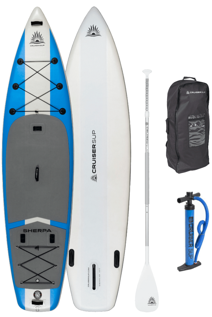 "CruiserSUP® Sherpa AIR 12' x 36"" Multi-Person Inflatable Paddle Board"