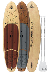 Two Cruiser SUP Xplorer Woody Paddle Boards