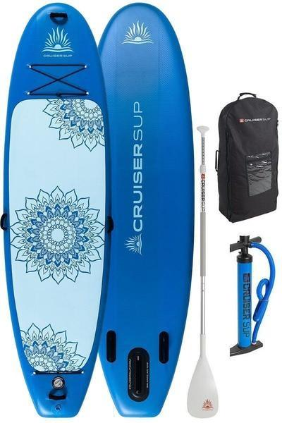 "CruiserSUP® Balance 10'8"" Inflatable Yoga Paddle Board"