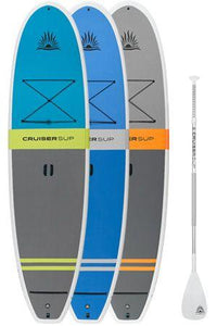 CruiserSUP® Fusion Feather-Lite Paddle Board With Full Length Deck Pad