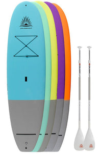 "Two CruiserSUP® Performer Dura-Soft 9'8"" - 11' Paddle Board Package"