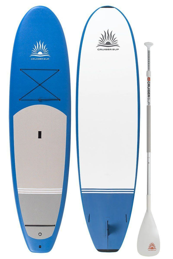 "Soft-Top 9'- 9'8"" Fiberglass/Carbon with Dura-Soft Full Wrap Deck Pad"