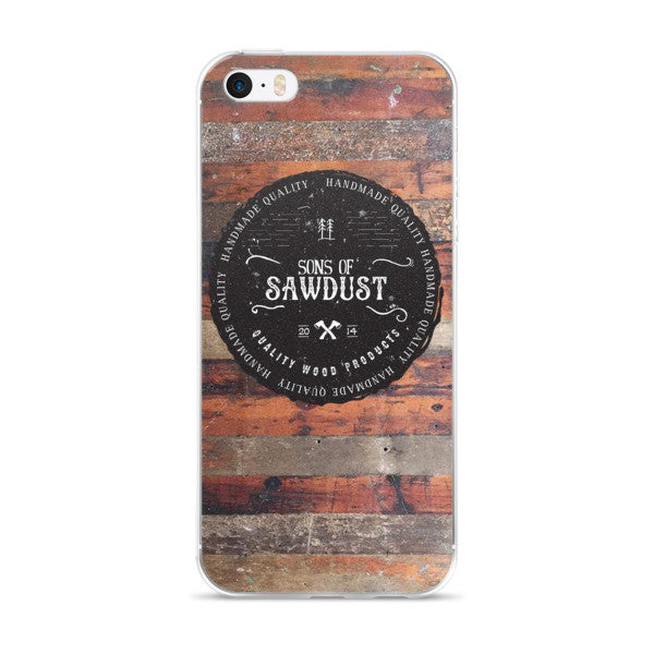 Reclaimed Look iPhone case