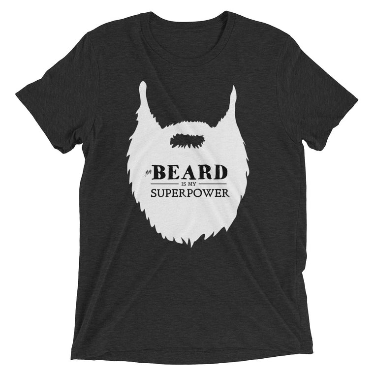 My Beard is My Superpower - White Print