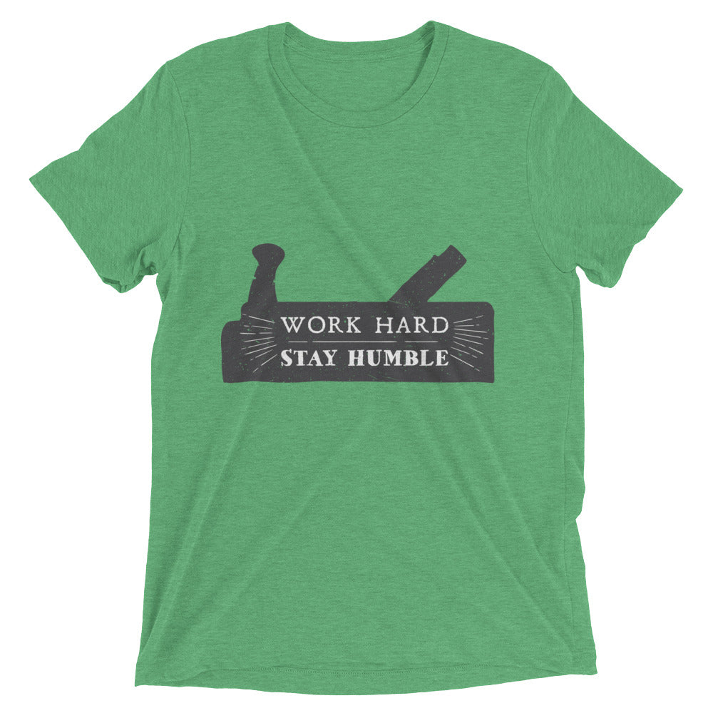 Work Hard - Stay Humble - Black Print