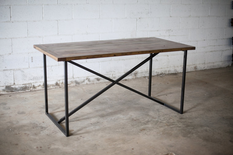 Steel X-Base Table