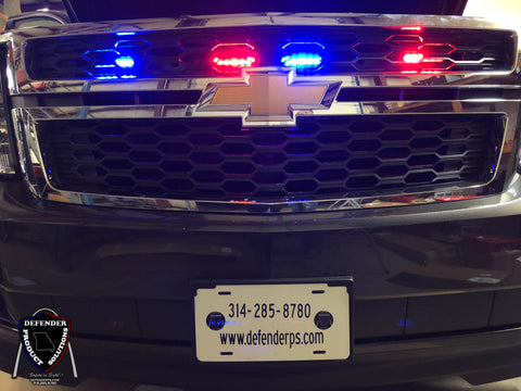 SoundOff Signal Mpower Fascia Tahoe Grille