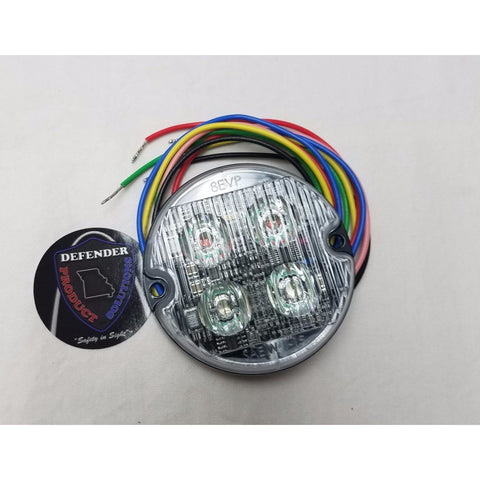 Excellent 8Evp Eos E202R Round Led Emergency Vehicle Warning Lights Dps Wiring Cloud Brecesaoduqqnet