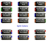 8EVP ELPF2 EOS License Plate Kit 2 LED