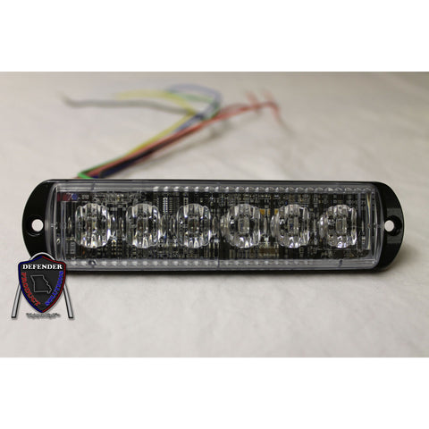 8EVP EOS 6 Unlit Emergency Vehicle Light