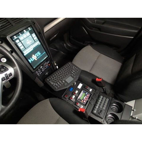 "Havis 2013-2017 Ford Interceptor Utility Vehicle Specific 18"" Console"
