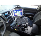 "Havis 2015-2017 Chevrolet Tahoe Police Pursuit Vehicle Specific 23"" Console"
