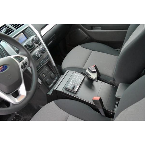 "Havis 2013-2017 Ford Standard Interior Police Interceptor Utility Vehicle Specific 14"" Console"