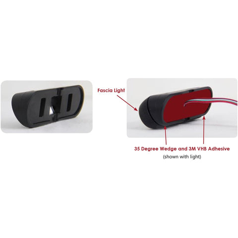 SoundOff Signal 35 Degree Wedge for mPower Fascia