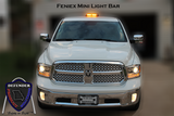 Feneix Fusion Mini Lightbar on Dodge Ram front