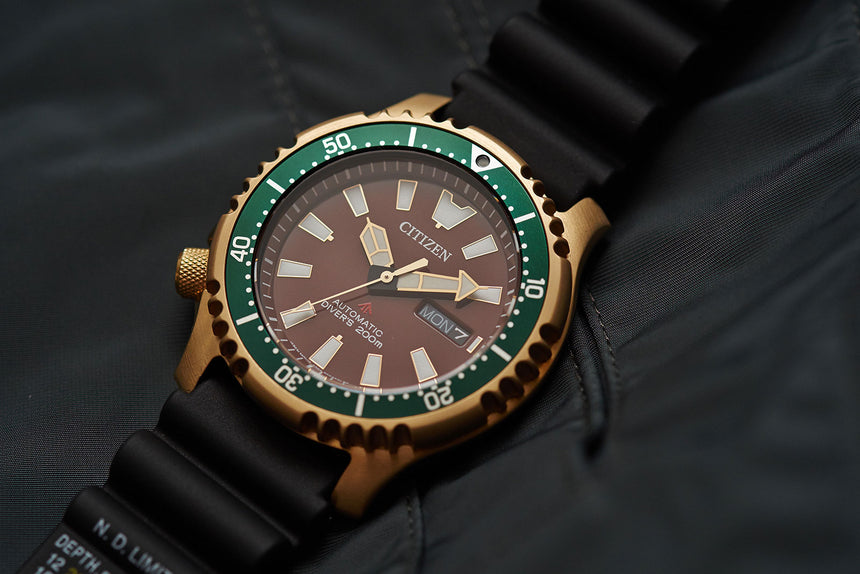 CITIZEN ASIA LIMITED PROMASTER NY011 COLLECTION, THE LARGER FUGU - by DEPLOYANT PETER CHONG