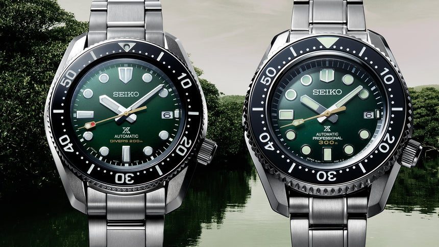 Introducing A Double Shot Of Limited-Edition Seiko - by COLE PENNINGTON
